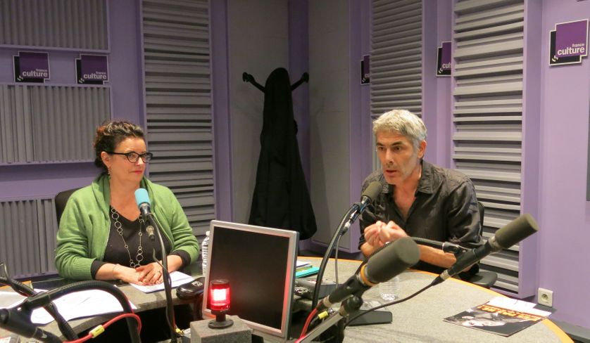 France Culture, studio 153... Aline Pailler & Philippe Maymat