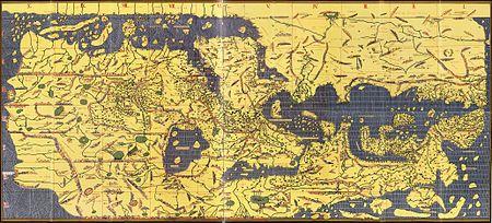 Carte du livre de Roger - 1154