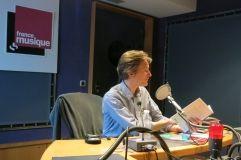 France Musique, studio 143... Philippe Venturini ©Annick Haumier-Radio France