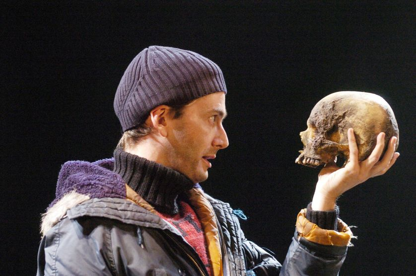 "David Tennant dans ""Hamlet"" de Gregory Doran (Royal Shakespeare Company) en 2008"