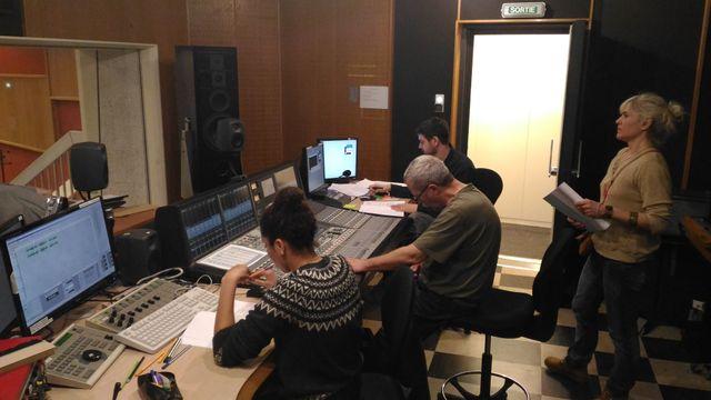 Equipe technique aux commandes de la fiction : Pierre Minne, Yacine Monnet et Félix Levacher