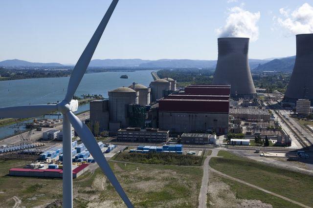 La centrale de Cruas-Meysse