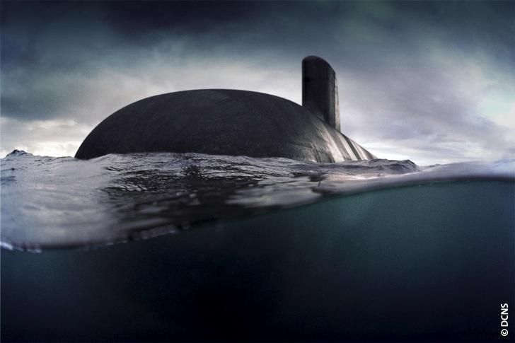 "Sous-marin français ""Barracuda"""
