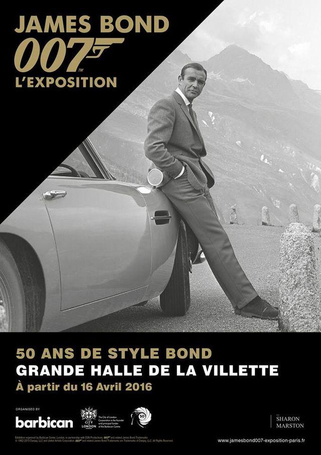 James Bond, l'exposition