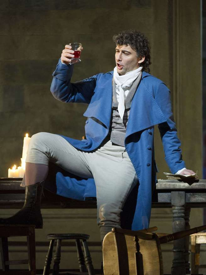 """Jonas Kaufmann dans """"Andrea Chenier"""" au Royal Opera House de Londres en 2015"""