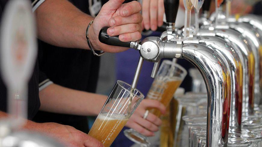 Tireuse à bière-Illustration