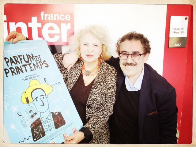 Ferid Boughedir et Paula Jacques