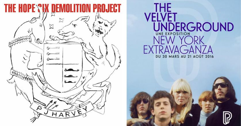 """The Hope Six Demolition Project"", ""The Velvet Underground"""
