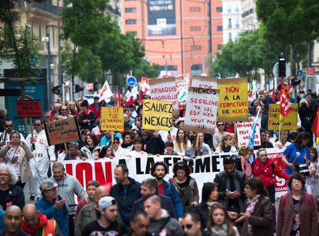 Défilé du 1er mai 2015 à Marseille