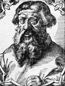 Gravure d'Étienne Dolet