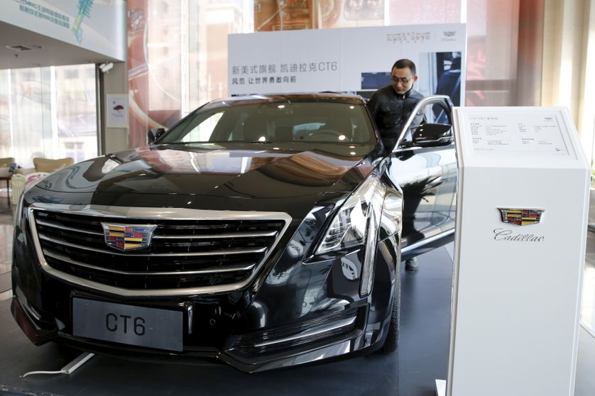 La Cadillac CT6, vendue à Pékin
