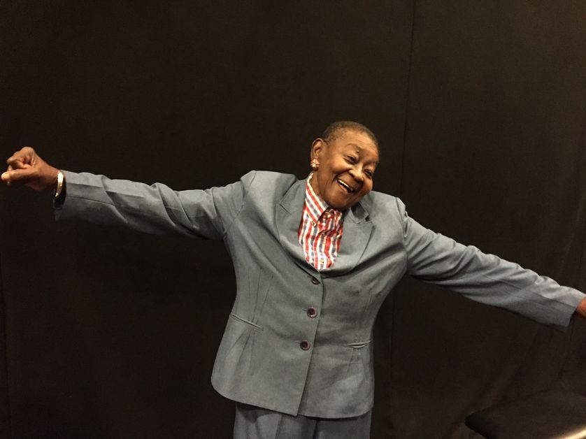 Calypso Rose danse au studio 108
