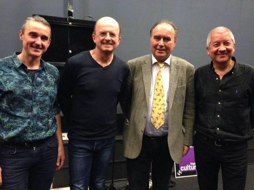 Christophe Marguet, Guillaume de Chassy, François Laroque et Andy Sheppard