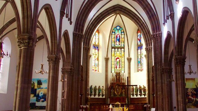 Botzheim, la cathédrale