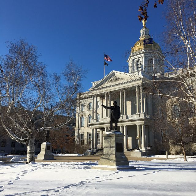 Capitole de l'Etat du New Hampshire, Concord