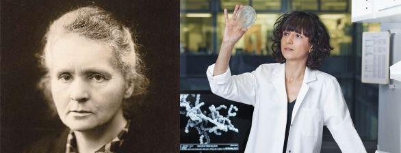 Marie Curie   Emmanuelle Charpentier