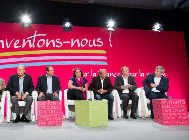 Les leaders de gauche réunis en 2014.