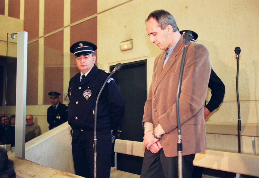 Dany Leprince lors de sa condamnation en 1997