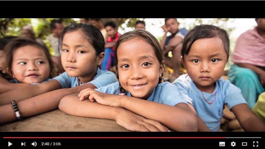 """Des enfants népalais sauvés grâce à l'association """"SOS villages d'enfants"""""""