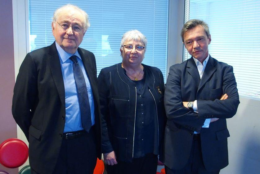 Jacques Cheminade, Elisabeth Pochon, Stéphane Rozès