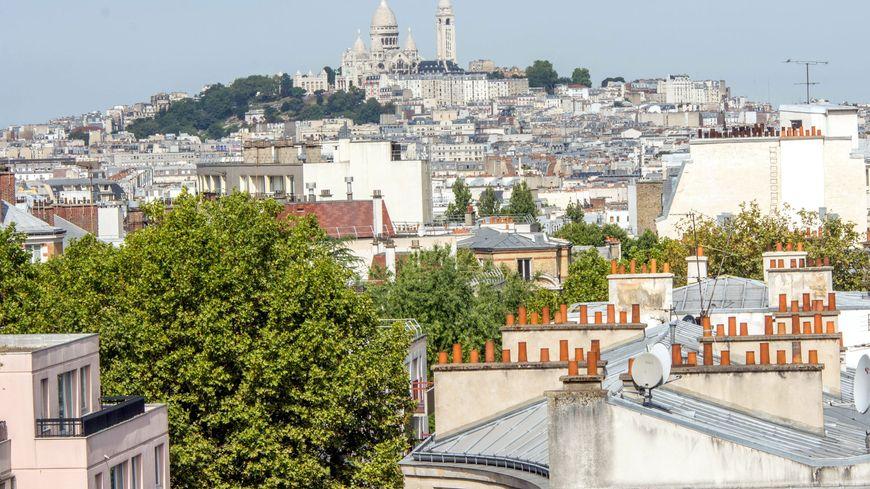 La butte de Montmartre - Illustration