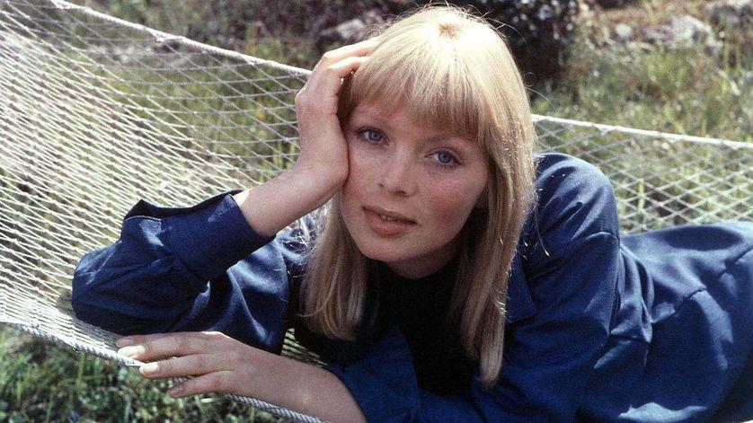 La chanteuse Nico en 1988.