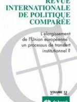 Revue internationale de politique comparée volume 13 (De Boeck, 2006)