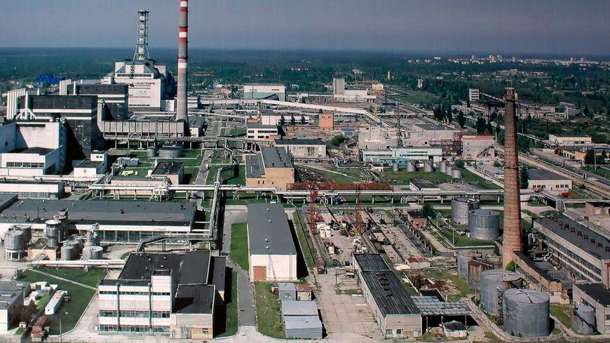 La centrale nucléaire de Tchernobyl