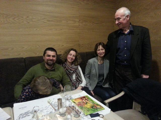 Une famille de Tchernobyl