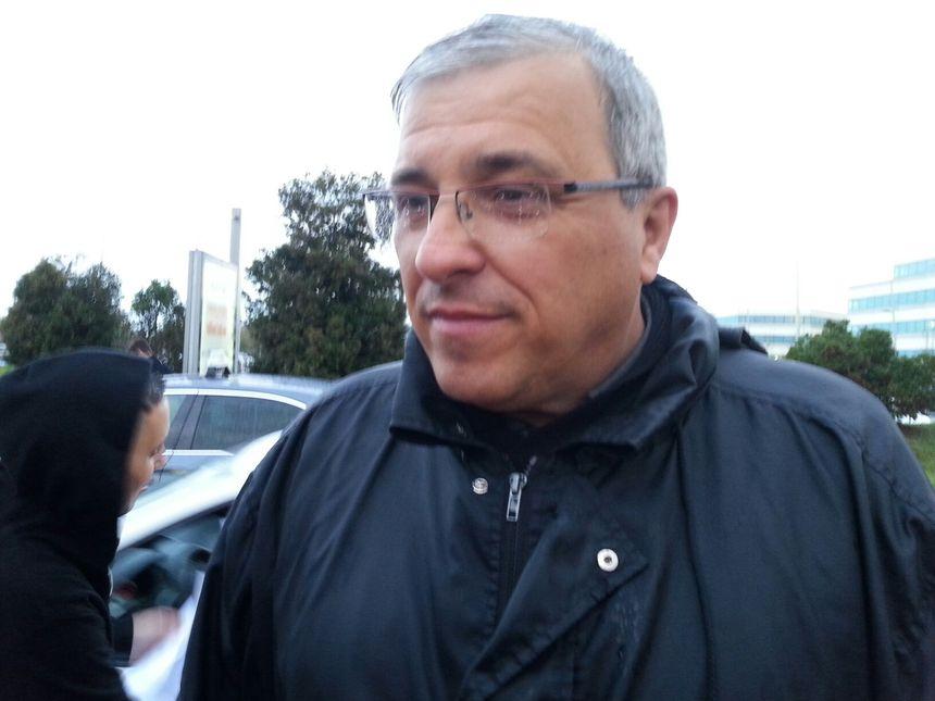 Stéphane Abeilhou, le porte-parole des taxis toulousains ce 4 avril.