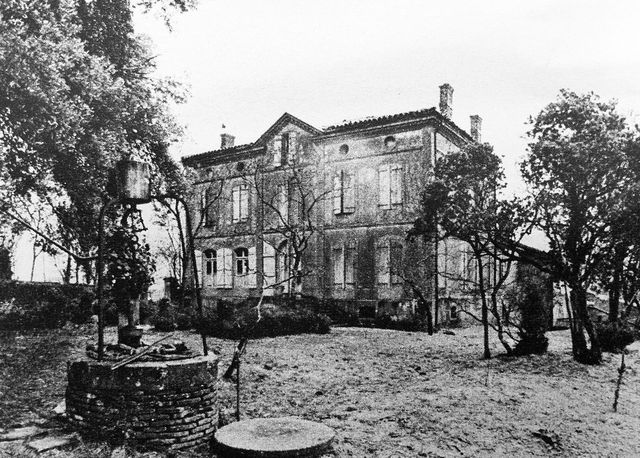 Le domaine de La Fumade, 1975