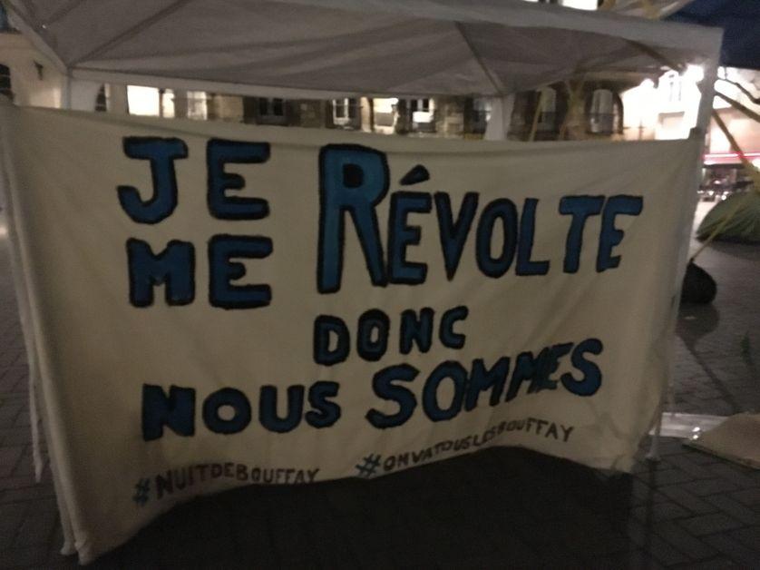 Lancement de la Nuit debout à Nantes (05/04/16)
