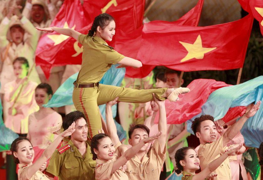 Commémoration nationale à Hanoî, l'été dernier