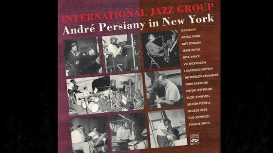 Visuel Jazz Trésor International Jazz Group