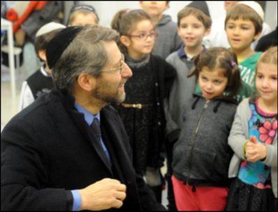 Le Grand-rabbin de France Haïm Korsia