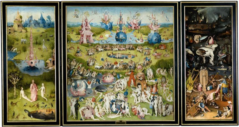 Le jardin des délices, 1503-1504