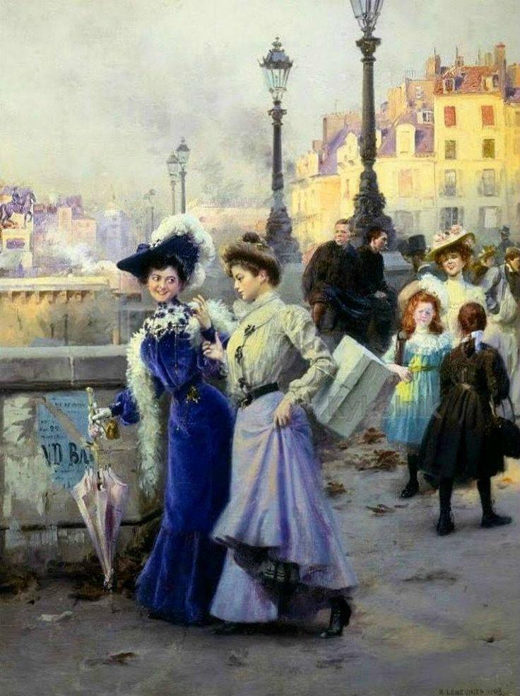 Le shopping des Parisiennes de la Belle époque