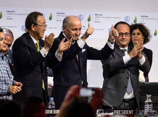 Il y a quatre mois était signé l'accord de Paris entre 195 pays.