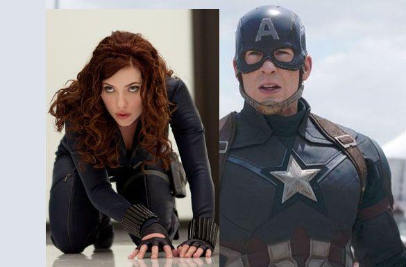 Captain America - black et cap