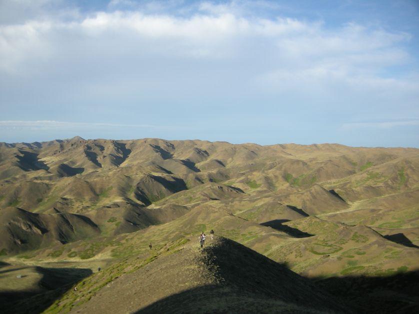 Durant un voyage de Philippe Dubois en Mongolie en 2012, à Yolyn Am