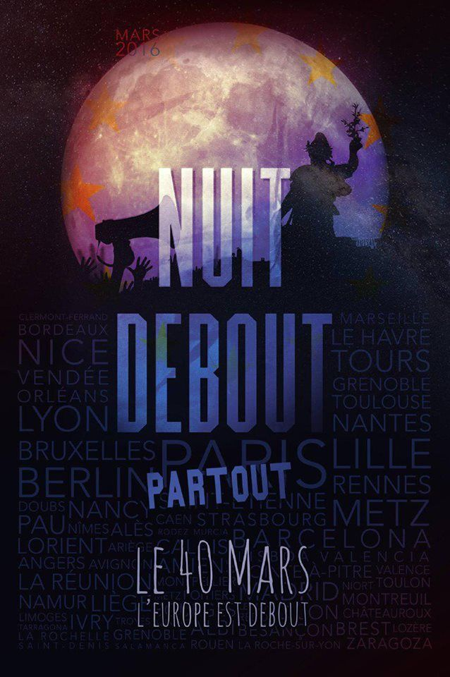 Nuit Debout affiche