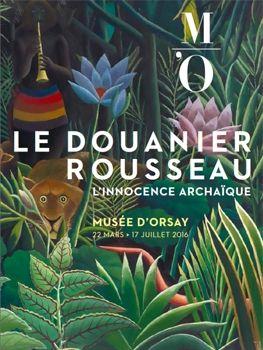 Affiche Le Douanier Rousseau au Musée d'Orsay