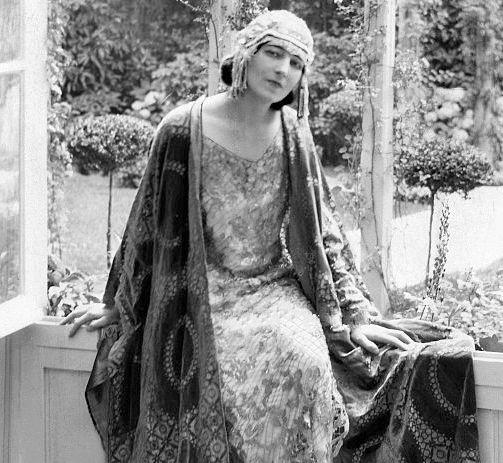 Ida Rubinstein, portrait anonyme de 1922