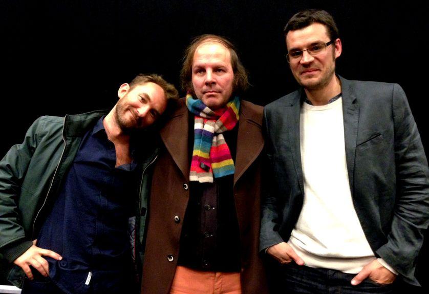Mathias Théry, Philippe Katerine et Etienne Chaillou