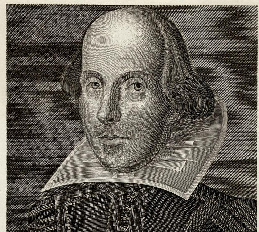 William Shakespeare (1564 - 1616) Dramaturge et poète anglais.