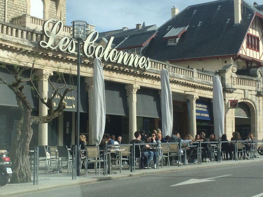 """Les """"Colonnes"""" à Biarritz"""
