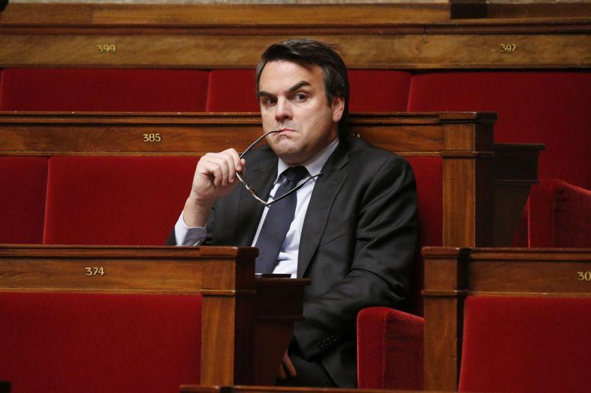 Thomas Thévenoud à l'Assemblée nationale en 2014