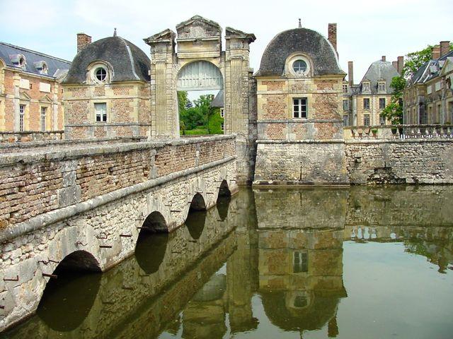 La Ferté St Aubin - Le château