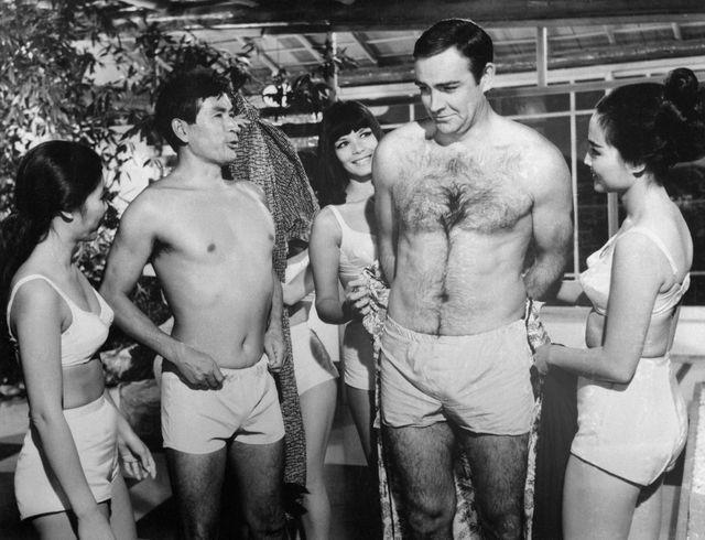 James Bond, On ne vit que deux fois, Sean Connery et Tetsuro Tamba (1968)