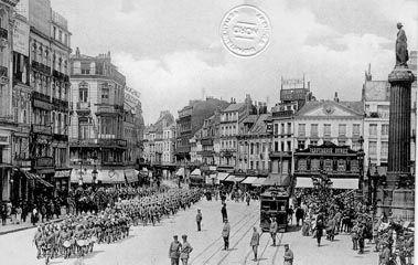 Parade de la Garde,Grande Place à Lille
